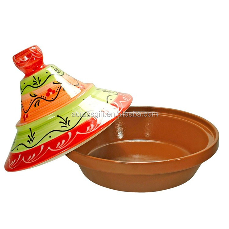 Cooking Tagine Terra Cotta Lead Free Cook Pot Clay cooking pot Cookware New