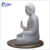 Graceful outdoor stone sculpture large white marble statue of durga maa NTMS-072Y