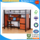 YIWU Bedroom furniture metal steel frame double bunk bed with environmental powder coating