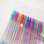 100 pcs non-repeated colors Amazon gel pens with smooth drawing glitter and shining