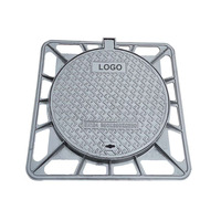 650mm Subsidence Prevention EN124 ductile iron cast iron manhole cover with frame