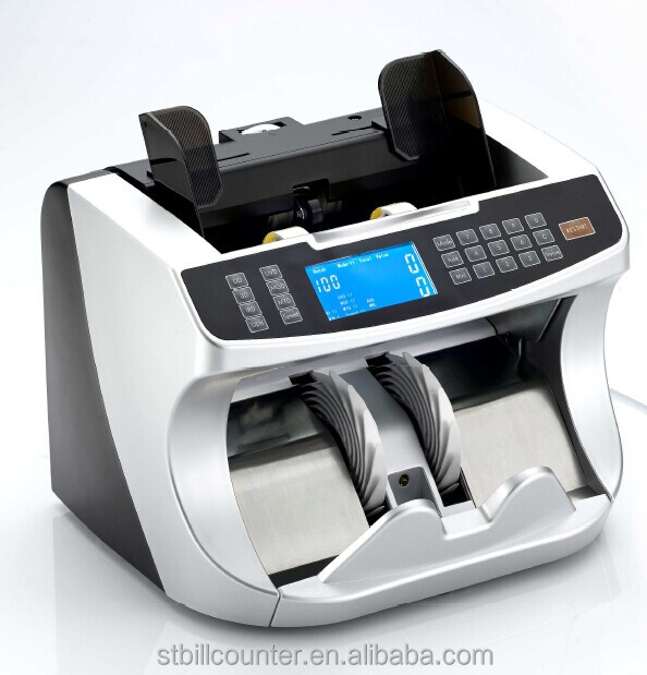 High Level N600CIS Value Counting Machine For Money With CIS Sensor