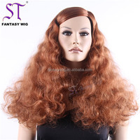 Fashion Red Long Big Afro Curl Drag Queen Cheap Black Mannequin Female Head For Wig