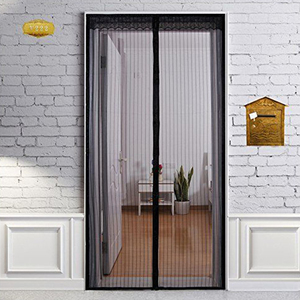 Window Insect Magnet Screen Curtain Magnetic Polyester Screen Door Mosquito Net For Door