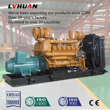 Best in China diesel powered standby generator silent 30kw weifang Ricardo engines