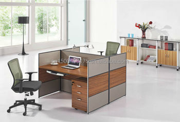 Morden Parion With Melamine Board 2 Person Office Desk