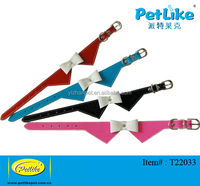 Fresh Color Bow Tie dog collar for female dog