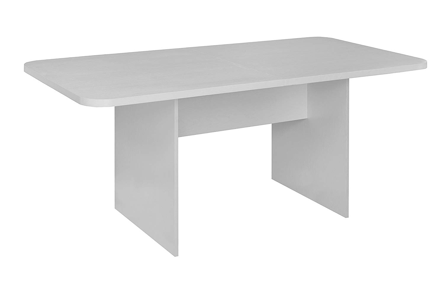 Niche NCT6834WH Mod Conference Table with No-Tools Assembly, 6', White Wood Grain