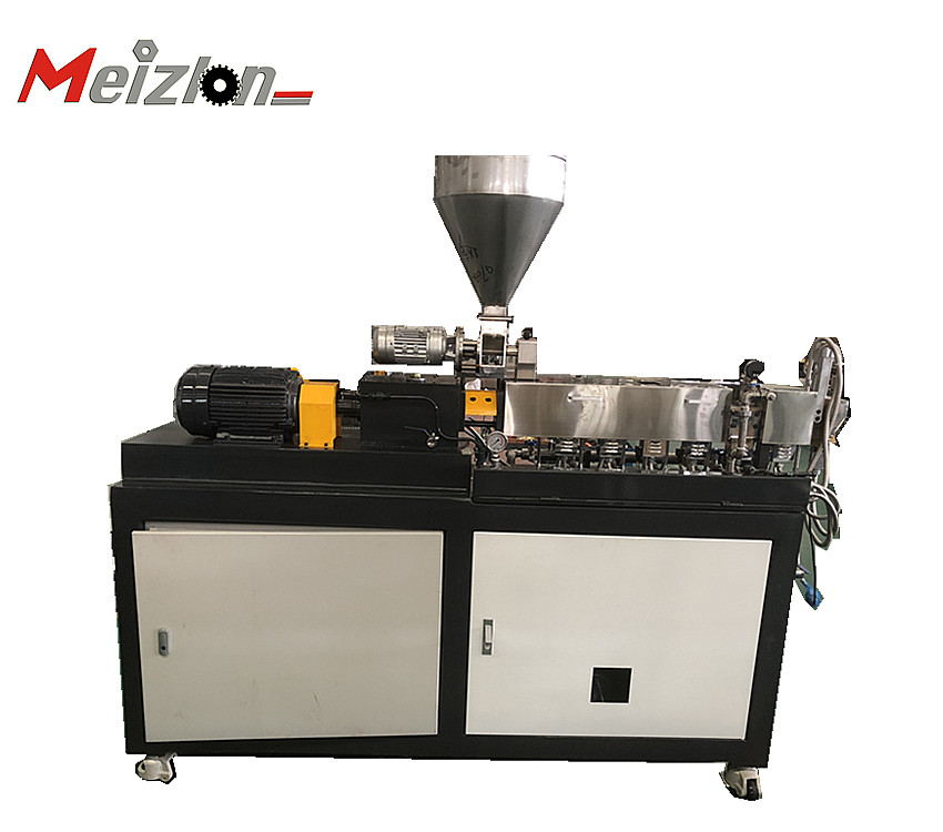 3D-Filament-PE-Pelletisierer-Extrusionsgranulator Color Master-Doppelschnecken-Mini-Labor-Extruder