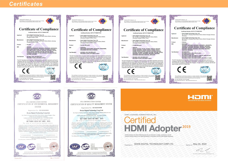 NDS3542L HDMI input H.264 HD encoder