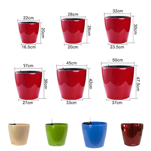 round flowerpots,colorful flowerpot,lowes flower pots