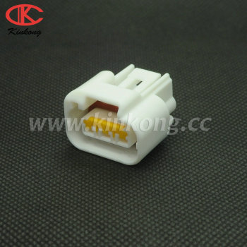 White 3P Waterproof Hosing Connectors Female auto Electrical Connectors Yamaha