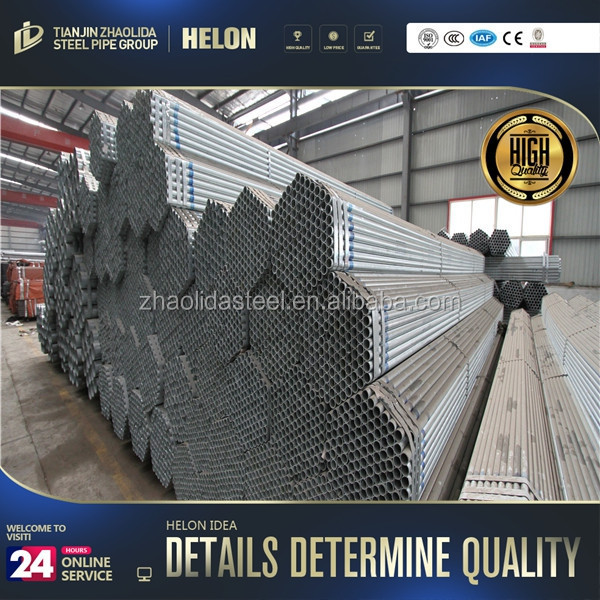 21.3mm ! galvanized carbon/mild/ms steel pipe standard length q235 black welded steel pipe
