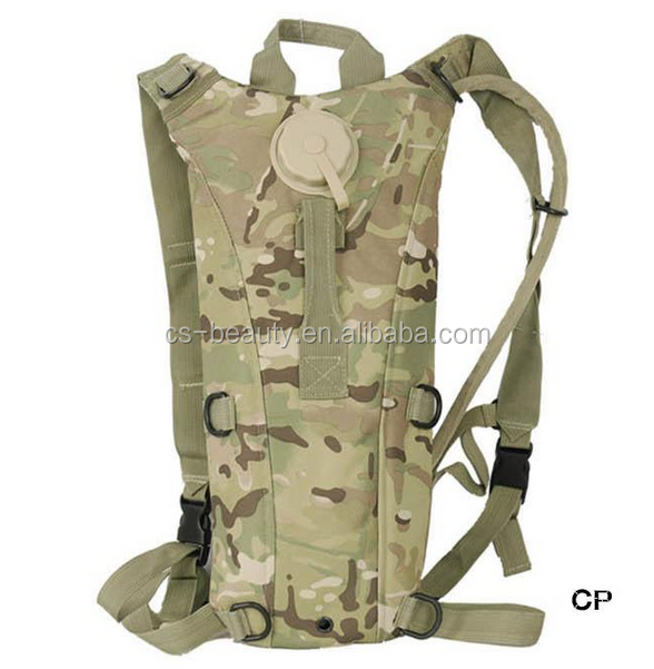 CS CP Multicam 3L Water Bag Pack Ultralight Outdoor Sports Cycling Hiking Climbing Travel Hydration Backpack Military Gear Pouch