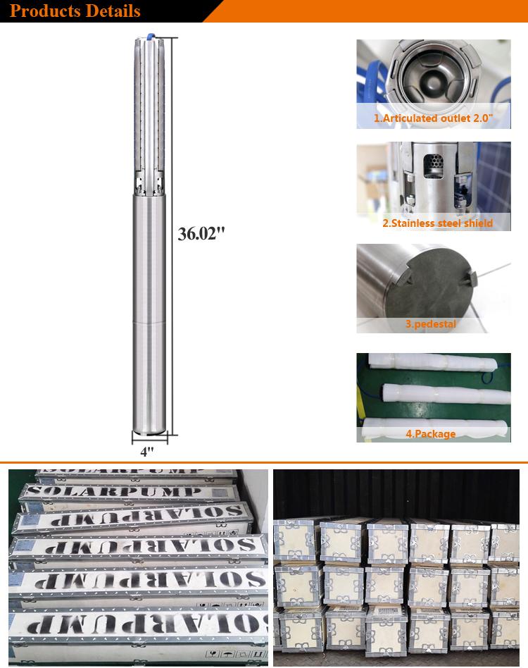 solar water pump for farming