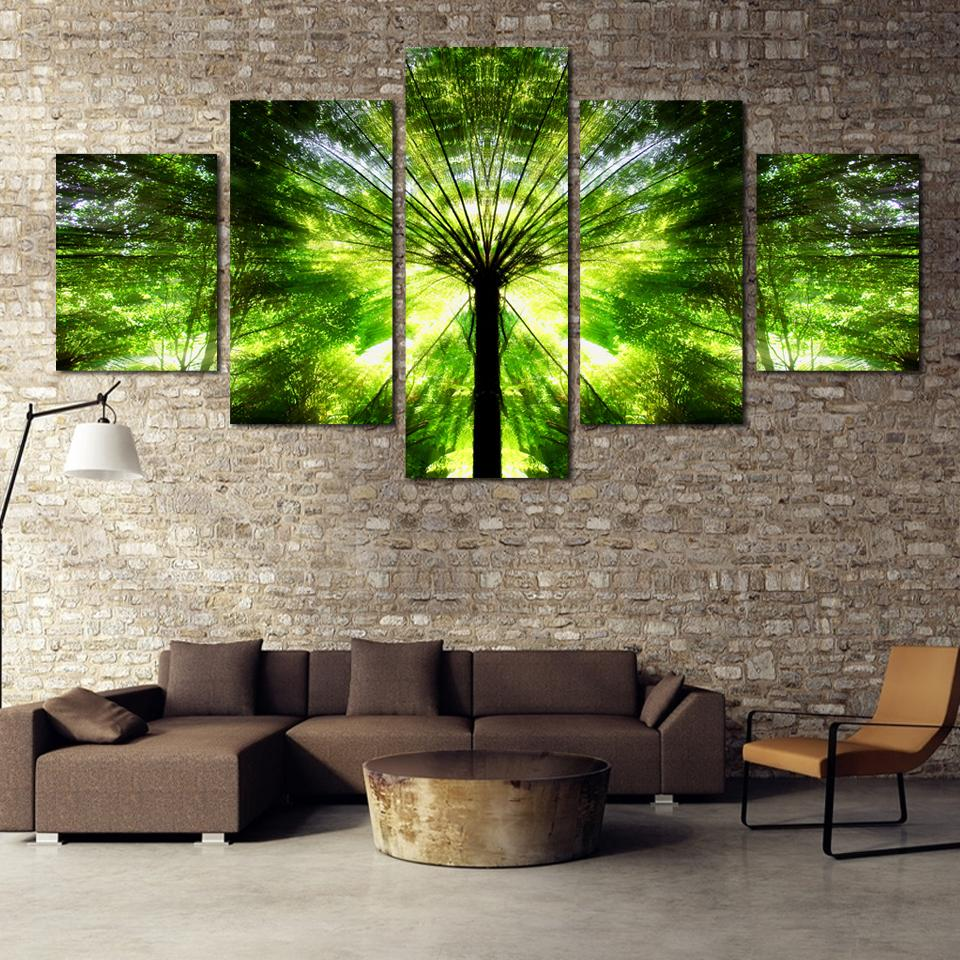 Popular Tree Landscape Paintings Buy Cheap Tree Landscape