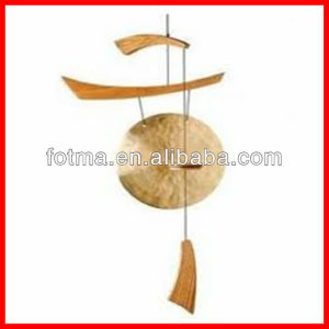 China Wuhan Antique Brass Gong