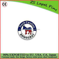 Free artwork design custom Democratic Party Buttons and Pins