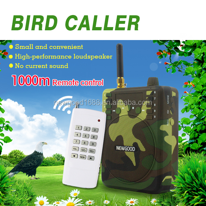 hunting equipment bird song player mp3 sound speaker