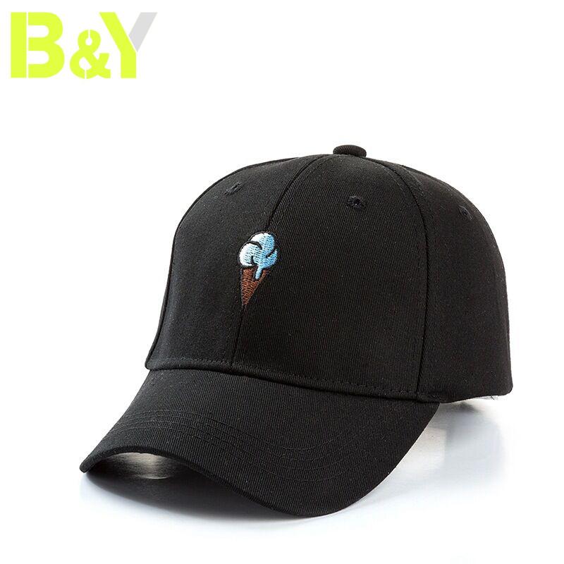 54283c203a1099 5pcs Wholesale Cute Ice Cream Embroidery Baseball Hats Snapback Sports Caps.  Payment: T/T West Union L/C