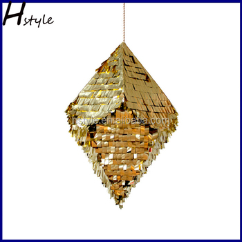 Diamond pinata designs for wedding decoration sd071 view for A t design decoration co ltd