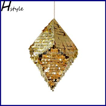 Diamond pinata designs for wedding decoration sd071 view for A t design decoration co ltd