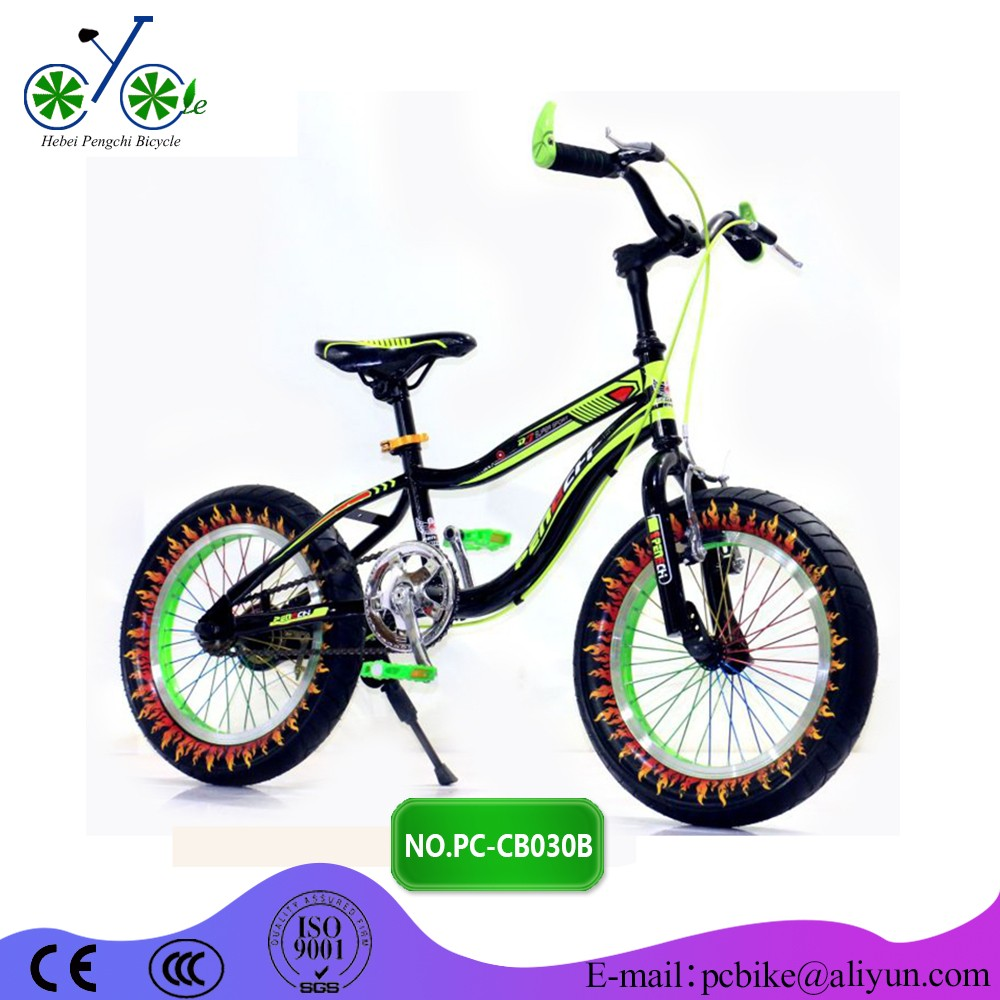 Purple Kids Fat Tire Bike 16inch 3 5width Factory Price Child