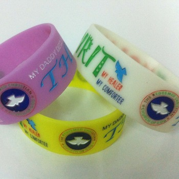 promotional festival rubber wristband personalized custom silicone bracelets