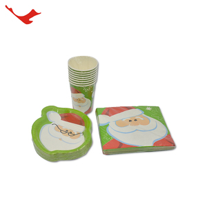 005 disposable creative tableware party kid supplies set