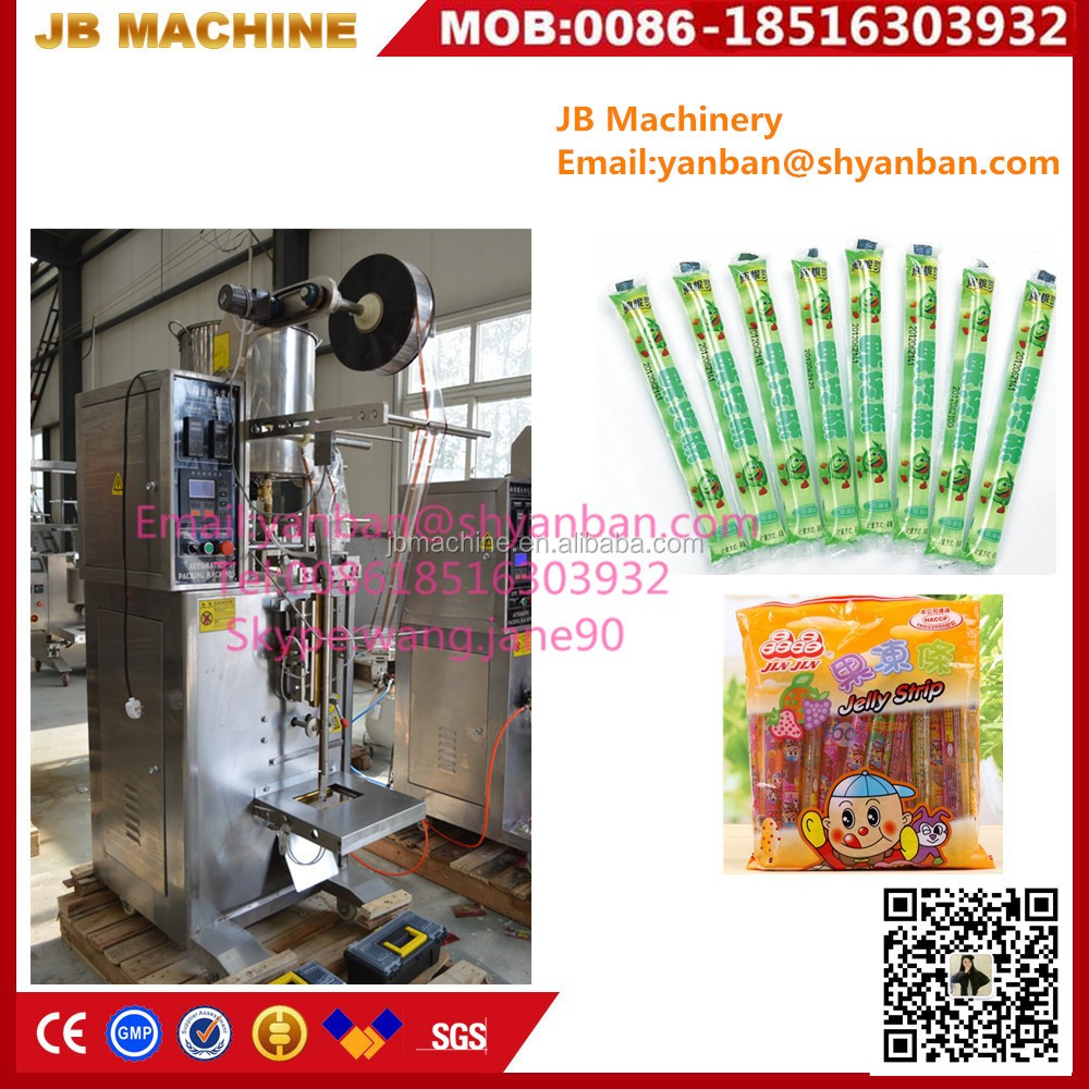 Shanghai JB-330Y automatic Ice lolly/Popsicle/Ice Pop packing machine