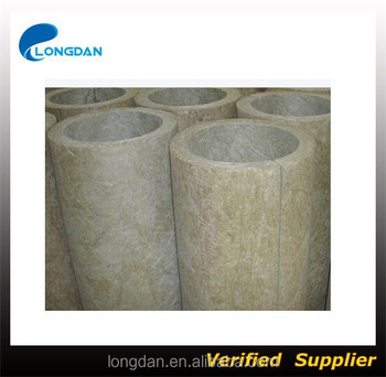 650 Degree Rock Wool Pipe For Pipe Insulation Buy Pipe