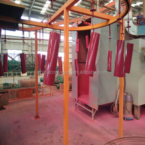 Belt conveyor troughing idler/carbon steel idler roller and frame