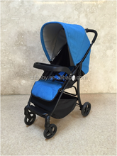 stainless steel frame material baby stroller with car seat