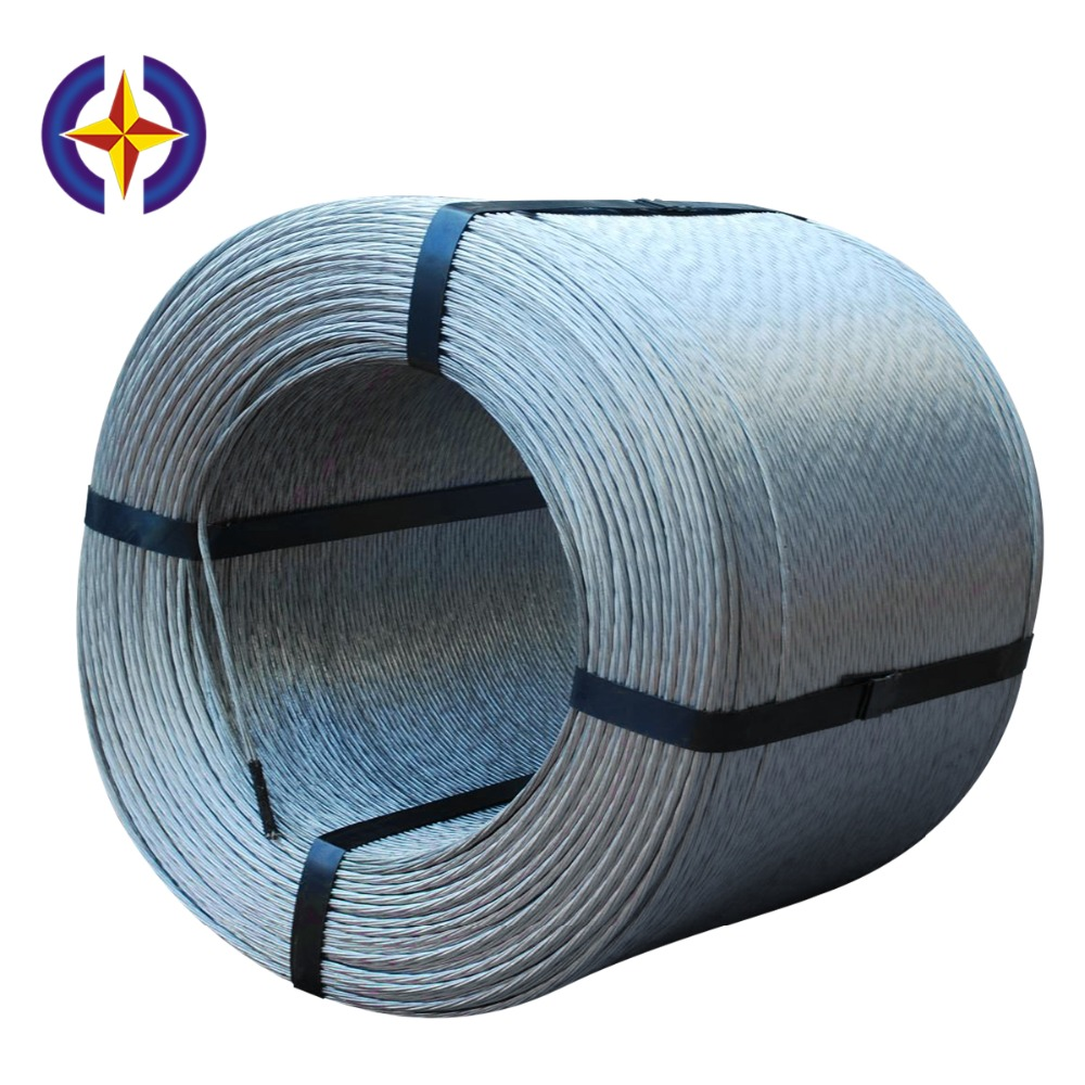 Hot Dipped 4mm Galvanized Steel Wire