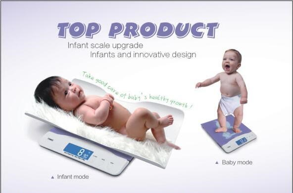 Designed specifically 100KG digital baby weighing scale