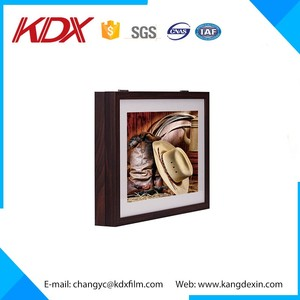 High quality beautiful shadow box led billboard acrylic 3d light kit box
