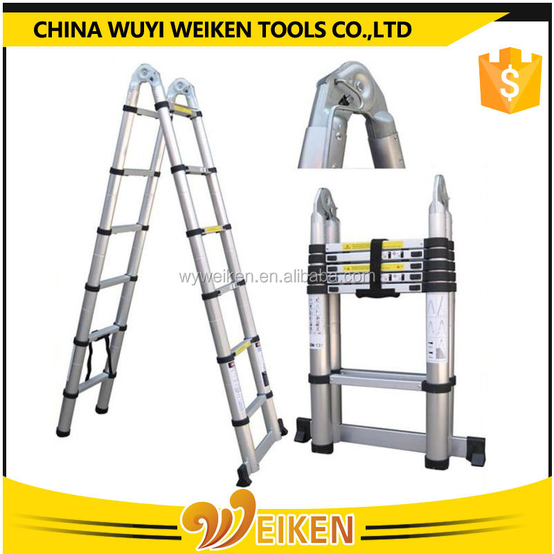 Different Size A Frame Bamboo Ladder With Stablizer,Double Side Combination  Telescoping Ladder,Free Standing Telescopic Stair - Buy A Frame Bamboo ...