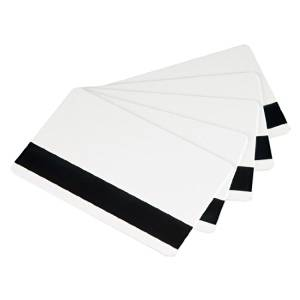 Card-tech 250pcs 2750 OE Magnetic White 25mil(0.63mm) PVC Cards Plastic Credit Gift Card Photo Card Magnetic Stripe Card