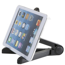 Metal Folding Triangle Stand Lazy Bed Holder for iPad mini 4 for Samsung Galaxy Tab from evergreentech