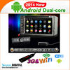 S-DVD6094GDA GPS navigation SD Card with map android 4.2 car dvd for universal car