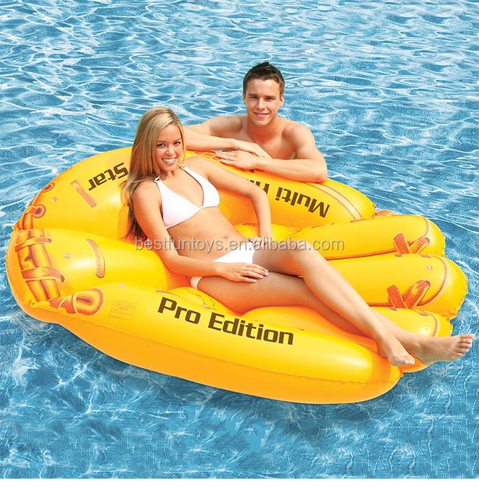 Factory Custom Baseball Gloves Pvc Inflatable Pool Floating Water ...