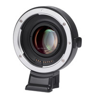 Viltrox Speed Booster Focal Reducer EF-E II for Sony E mount Camera to Canon EF lens Same with Metabones Auto Focus Lens Adapter