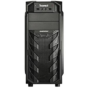 Enermax Thorex ECA3321B-BT (U2) No Power Supply ATX Mid Tower Case (Black)