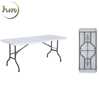 OUTDOOR PLASTIC FOLDING CONFERENCE TABLE