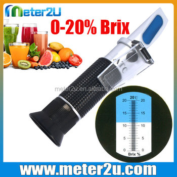 Cheap Optical Instruments Brix Sugar Conversion Chart Refractometer
