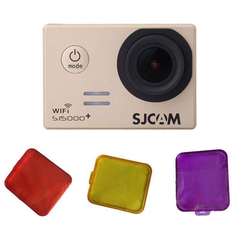 Sjcam SJ5000 фильтр для объектива SJ5000 SJ 5000 плюс действий камеры аксессуары дайвинг защитные анти-уф круг зеркала