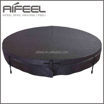 Hot sale plastic waterproof durable round spa covers for hot tub