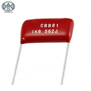 Rohs certification CBB81 Metallized Polypropylene Film Capacitor