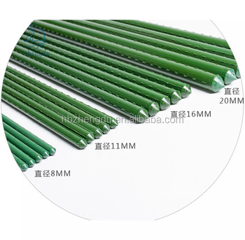 Durable Steel Garden Stakes 120CM Length With PE Coated For Plant Support
