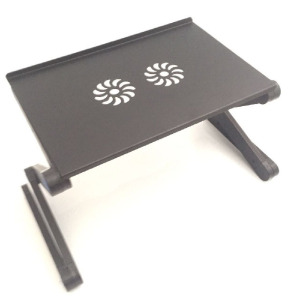 UK Adjustable Laptop Stand Drawing Work Study Computer Desk Rising Folding Table